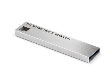 LaCie Porsche Design 16GB / Flash disk / USB 3.0 / stříbrná