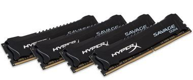 HyperX Savage 32GB (4x 8GB) DDR4 2133MHz / CL13 / DIMM / Non-ECC / Un-Registered / 1.2V