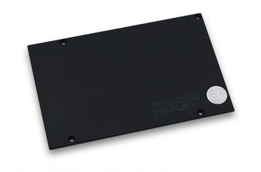 EKWB EK-FC R9 Nano Backplate - Black