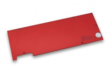 EKWB EK-FC Titan X Backplate - Red