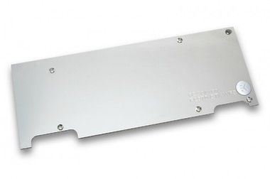 EKWB EK-FC970 GTX WF3 Backplate - Nickel