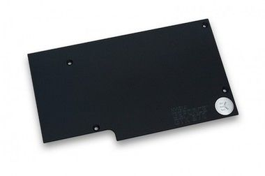 EKWB EK-FC970 GTX Backplate - Black