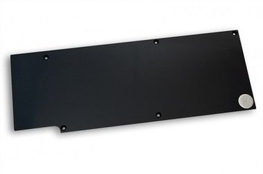 EKWB EK-FC R9-290X Backplate - Black