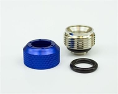 PrimoChill Revolver Compression Fitting 10-13mm (1 ks) - Modrá