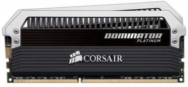 Corsair DOMINATOR Platinum 16GB / 2x8GB / DDR3 / 2133MHz / PC3-17000 / CL9-11-11-31 / 1.65V / černá