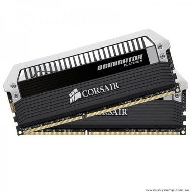 Corsair DOMINATOR Platinum 16GB / 2x8GB /  DDR3 / 2400MHz  / PC3-19200 / CL11-13-13-31 / 1.65V / XMP1.3 / černá