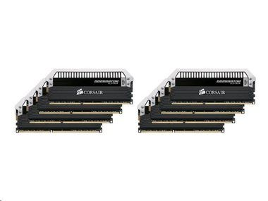 Corsair DOMINATOR Platinum 64GB / 8x8GB / DDR3 / 2400MHz / PC3-19200 / CL11-13-13-31 / 1.65V / XMP 1.3  / s chladičem