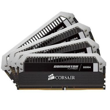 Corsair DOMINATOR Platinum 16GB / 4x4GB / DDR4 / 3200MHz / PC4-25600 / CL16-18-18-36 / 1.35V / XMP2.0 / s chladičem