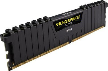 Corsair VENGEANCE LPX BLACK 8GB / DDR4 /  2400MHz / PC4-19200 / CL16-16-16-39 / 1.2V / XMP 2.0 / s chladičem