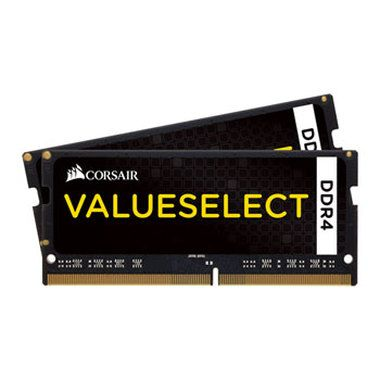 Corsair VALUE SELECT 32GB / 2x16GB / SO-DIMM / DDR4 / PC4-17000 / 2133MHz / CL15-15-15-36 / 1.2V