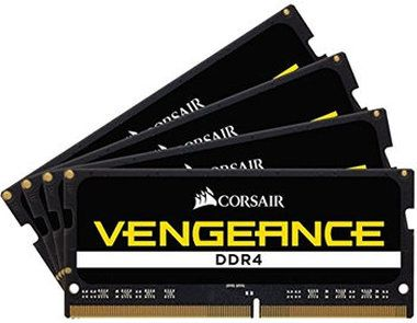 Corsair VENGEANCE 64GB / 4x16GB / SO-DIMM / DDR4 / PC4-21300 / 2666MHz / CL18-19-19-39 / 1.2V
