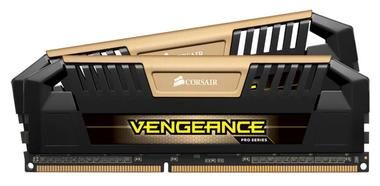 Corsair VENGEANCE PRO GOLD 16GB / 2x8GB / DDR3 / 2400MHz / PC3-19200 / CL11-13-13-31 / XMP1.3 / 1.65V / s chladičem