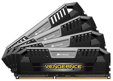Corsair VENGEANCE PRO BLACK 32GB / 4x8GB / DDR3L / 1600MHz / PC3-12800 / CL9-9-9-24 / XMP1.3 / 1.35V / s chladičem