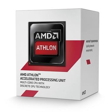 AMD Athlon 5370 @ 2.20GHz / 4C4T / 256kB L1, 2MB L2 / Radeon R3 / AM1 / Jaguar-Kabini / 25W