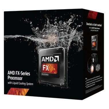 AMD FX-9590 @ 4.7GHz + H2O / Turbo 5.0GHz / 8C8T / 384kB L1, 8MB L2, 8MB L3 / AM3+ / Piledriver-Vishera / 220W