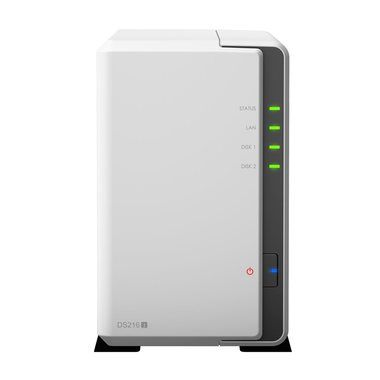 Synology DiskStation DS216j / 2x HDD / Marvell DC @1GHz / 512MB RAM / USB 3.0 / GLAN
