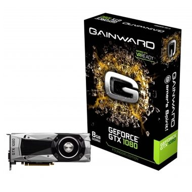 Gainward GeForce GTX 1080 Founders Edition / 1607-1733MHz / 8GB D5X 10GHz / 256-bit / DVI, HDMI, 3x DP / 225W (8)