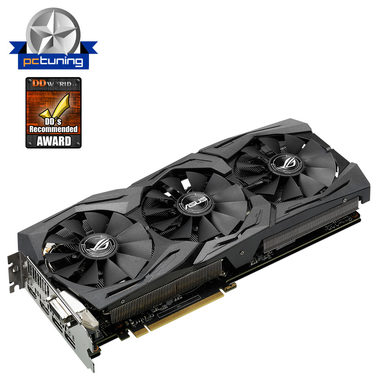 ASUS STRIX-GTX1070-O8G-GAMING / 1632-1860MHz / 8GB D5 8GHz / 256-bit / DVI, 2x HDMI, 2x DP / 225W (8)
