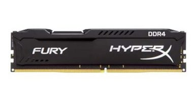 HyperX Fury 16GB (1x 16GB) DDR4 2133MHz / CL14 / DIMM / Non-ECC / Un-Registered / 1.2V