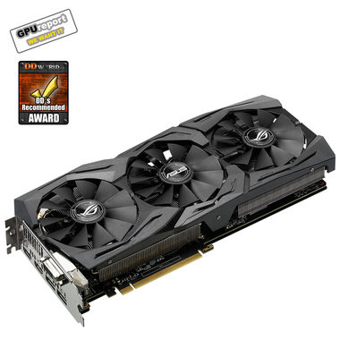 ASUS STRIX-GTX1060-O6G-GAMING / 1620-1873MHz / 6GB D5 8.2GHz / 192-bit / DVI, 2x HDMI, 2x DP / 225W (8)