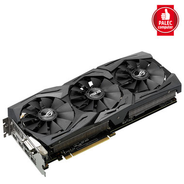 ASUS STRIX-GTX1060-6G-GAMING / 1506-1746MHz / 6GB D5 8GHz / 192-bit / DVI, 2x HDMI, 2x DP / 225W (8)