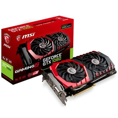 MSI GeForce GTX 1080 GAMING Z 8G / 1607-1911MHz / 8GB D5X 10.1GHz / 256-bit / DVI, HDMI, 3x DP / 300W (8+6)