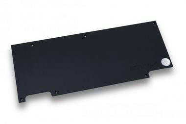 EKWB EK-FC1080 GTX Strix Backplate - Black