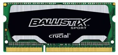 Crucial Ballistix Sport 4GB / DDR3 / SO-DIMM / 1866MHz / PC3-14900 / CL10 / 1.35/1.50V / XMP
