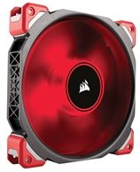 Corsair ML140 PRO LED Red / 140mm / Magnetic Levitation Bearing / 37dB @ 2000RPM / 165m3h / 3mm H2O / 0.202A / 4-pin
