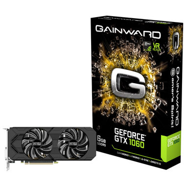 Gainward GeForce GTX 1060 / 1506-1708MHz / 6GB D5 8GHz / 192-bit / DVI, HDMI, 3x DP / 150W (6)