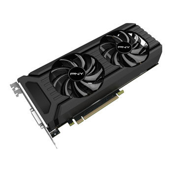 PNY GeForce GTX 1060 Dual Fan / 1506-1708MHz / 6GB D5 8GHz / 192-bit / DVI, HDMI, 3x DP / 150W (6)