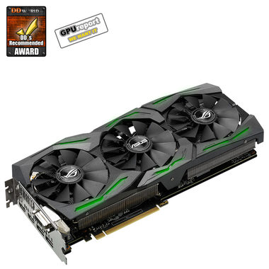ASUS STRIX-RX480-O8G-GAMING / 1310-1330MHz / 8GB D5 8GHz / 256-bit / DVI + 2x HDMI + 2x DP / 225W (8)
