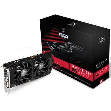 XFX Radeon RX 470 4GB RS Hard Swap Triple X BE / 926-1256MHz / 4GB D5 6.6GHz / 256-bit / DVI + HDMI + 3x DP / 150W (6)