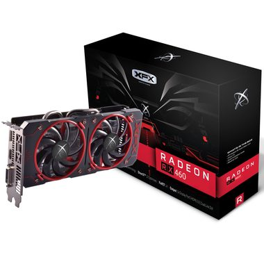 XFX Radeon RX 460 2GB Double Dissipation / 1090-1220MHz / 2GB D5 7GHz / 128-bit / DVI + HDMI + DP / 150W (6)
