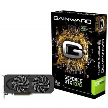 Gainward GeForce GTX 1070 / 1506-1683MHz / 8GB D5 8GHz / 256-bit / DVI, HDMI, 3x DP / 225W (8)