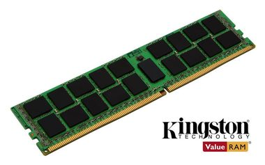 Kingston 16GB DDR4 2400MHz ECC Reg DR x8 Micron A / 16GB KIT / CL17 / XMP / 1.5V / černá