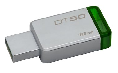 Kingston DataTraveler 50 16GB / Flash Disk / USB 3.0 / zelená