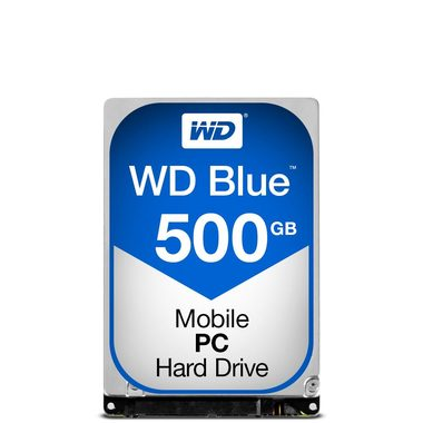 "WD Blue 500GB / HDD / 2.5"" SATA III / 5 400 rpm / 16MB cache / 7mm / 2y"
