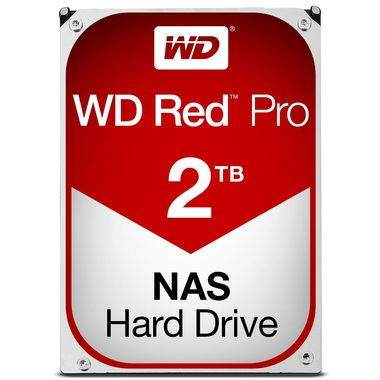 "WD Red Pro 2TB / HDD / 3.5"" SATA III / 7 200 rpm / 64MB cache / 5y"