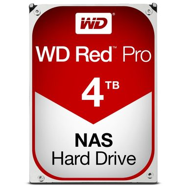 "WD Red Pro 4TB / HDD / 3.5"" SATA III / 7 200 rpm / 128MB cache / 5y"