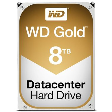 "WD Gold 8TB / HDD / 3.5"" SATA III / 7 200 rpm / 128MB cache / 5y"