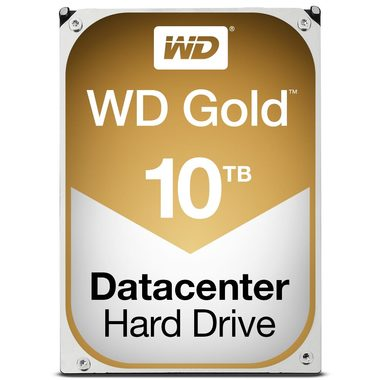 "WD Gold 10TB / HDD / 3.5"" SATA III / 7 200 rpm / 256MB cache / 5y"