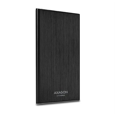 "AXAGON SLIM box 7mm / USB3.0 - SATA 6G 2.5"" / černý"