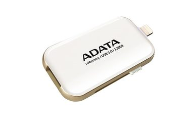ADATA i-Memory UE710 128GB White / Flash Disk / USB 3.0 / Lightning MFi / pro Apple / bílá