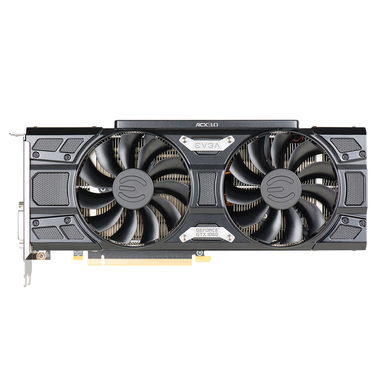 EVGA GeForce GTX 1060 FTW+ GAMING / 1632-1860MHz / 6GB D5 8GHz / 192-bit / DVI, HDMI, 3x DP / 225W (8)