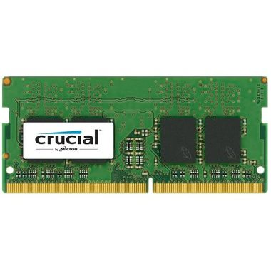 Crucial 8GB / DDR4 / SO-DIMM / 2400MHz / PC4-19200 / CL17 / 1.2V / Single Ranked x8