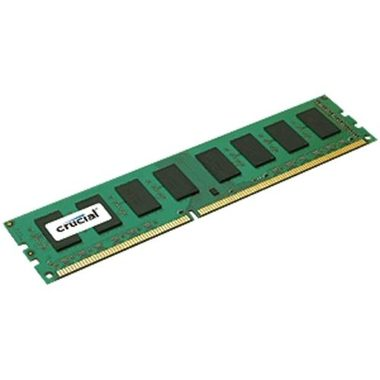 Crucial 2GB / DDR3L / 1600MHz / PC3L-12800 / CL11 / 1.35V / 1.50V / Dual Voltage / Single Ranked