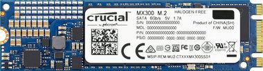 Crucial M.2 MX300 1TB / 6Gbps / M.2 2280SS (NGFF) / 530MBs / 510MBs / 92.000 IOPS / 83.000 IOPS