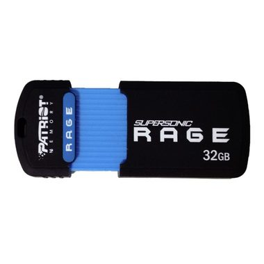 Patriot Supersonic Rage 32GB / Flash disk / USB3.0 / Rychlost až 180Ms / 50MBs