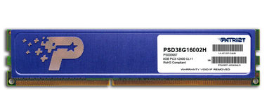 Patriot 8GB / DDR3 / PC3-12800 / 1600MHz / CL11 / Signature
